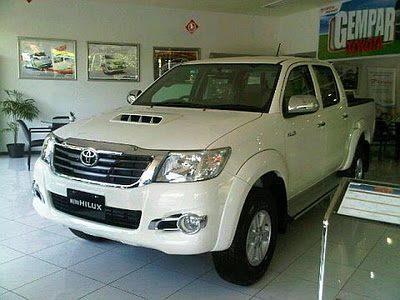 Harga Toyota Hilux Banjarmasin Juli 2015