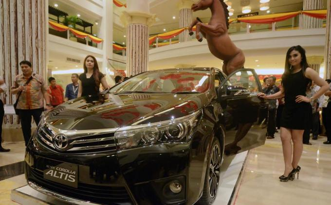 Harga Toyota Corolla Altis OTR Banjarmasin September 2015