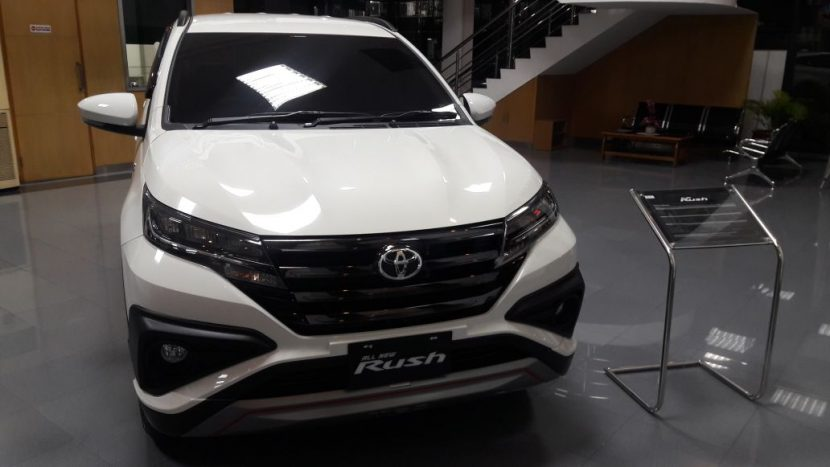 Open Indent Toyota All New Toyota Rush 2018 Banjarmasin